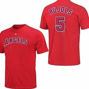 Majestic Los Angeles Angels Albert Pujols Shirt
